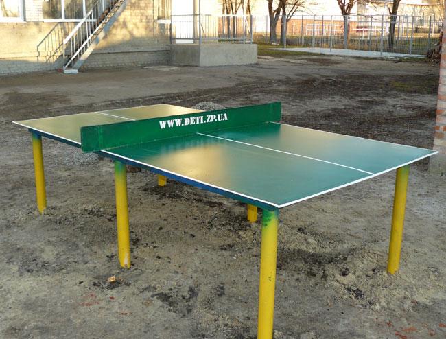Стол для настольного тенниса своими руками фото