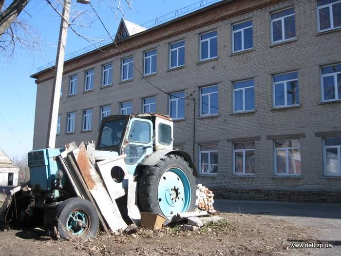 Закрытый интернат в селе Полтавка Гуляйпольского района