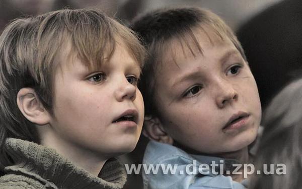 Воспитанники Черниговского интерната, 2007 год