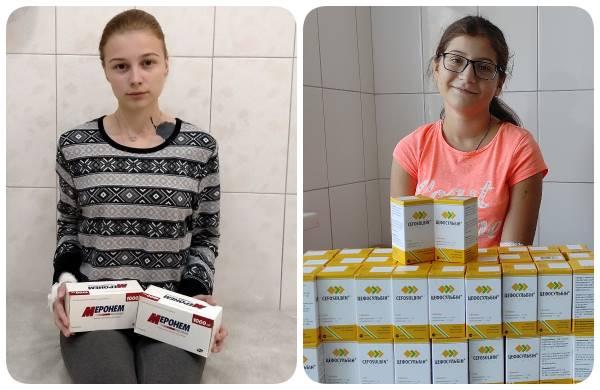 Алиса Онуфриева и Оля Павленко